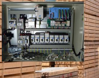 Radiowy system pomiaru parametrów w procesie suszenia drewna