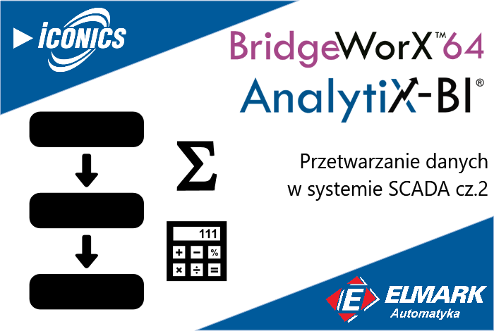 Projektowanie własnych algorytmów przepływu danych w systemie SCADA.