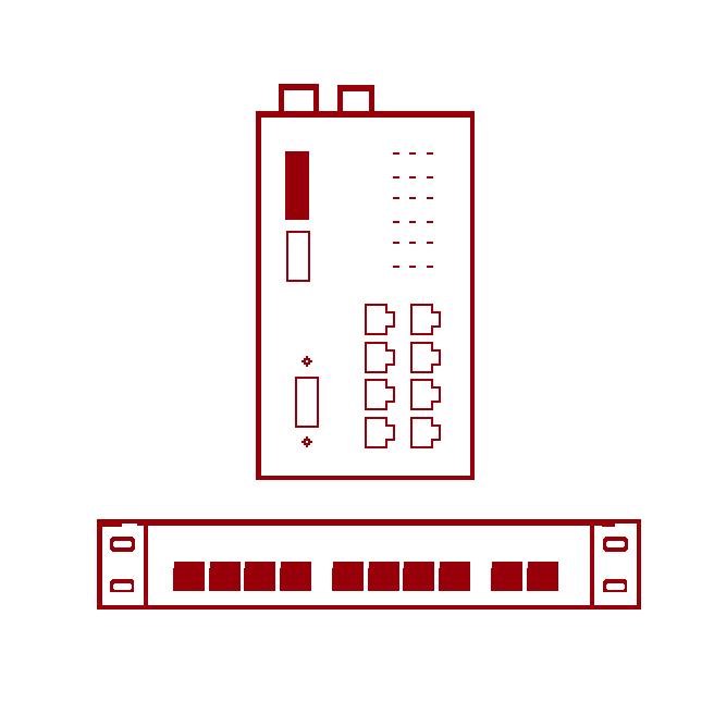 Switche i routery przemysłowe