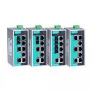 EDS-208A - przemysłowe switche niezarządzalne na szynę DIN