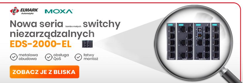 EDS-2000 Bardzo małe switche Moxa